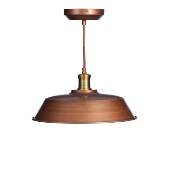 125535 lamp techo met cobre 40