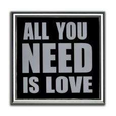 CUADRO ALL YOU NEED LOVE