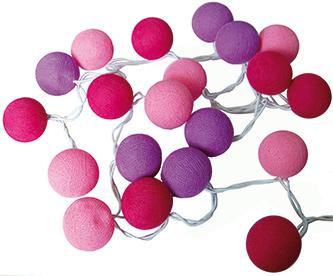 Guirnalda led rosa lila mira y decora - Mira y decora ...
