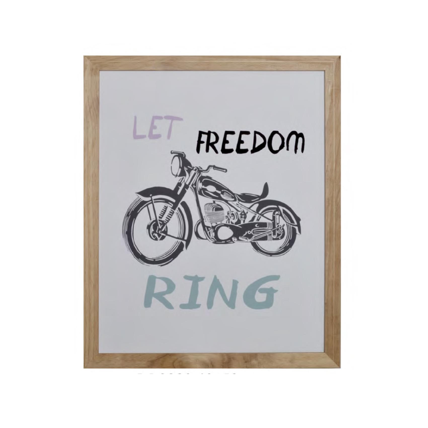 Cuadro mensaje marco madera mira y decora - Mira y decora ...